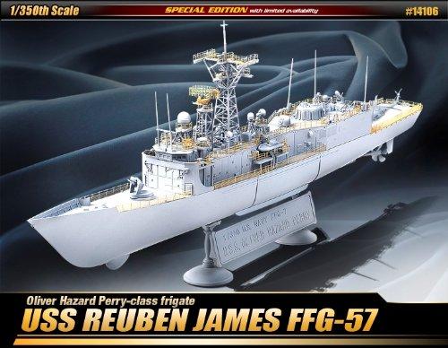 アカデミー 1/350 USS ルーベン ジェームス FFG-57 限定版 プラモデル B004TDSE3E