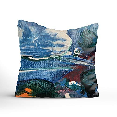 FunnyLife Custom Pillow Case Personalized Throw Pillowcase Mini World Decorative Cushion Cover -