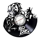 Harley Quinn Mad Handmade Vinyl Record Wall Clock – Get Unique Living Room or Home Wall Decor – Gift Ideas for Friends, Teens – Comics Unique Design Review