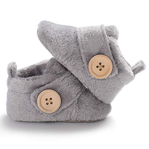 Winter Toddler Boys Girls Warm Snow Boots Infant Soft Sole Slipper Crib Shoes