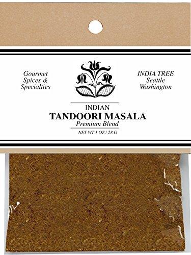 India Tree Tandoori Masala, 1 oz (Pack of 4) -