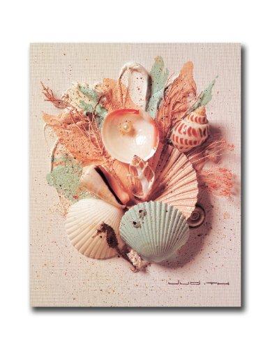 Ocean starfish sea shell beach bathroom 1 wall picture for Bathroom paintings amazon