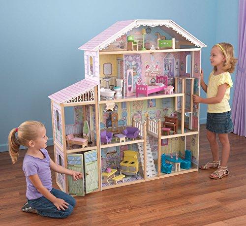 Kidkraft majestic chateau mansion wooden dollhouse play set b00pgaopi2 amazon price tracker - Kidkraft espana ...