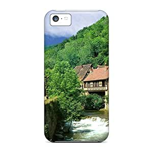 LJF phone case Kayzersberg Village France Case Compatible With iphone 5/5s/ Hot Protection Case