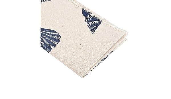 1PC Linen Ramie Cotton Fabric DIY Patchwork Textile Craft 96cmx52cm