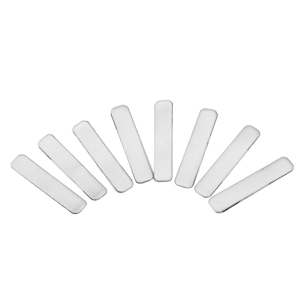 8 Pcs Adhesive Golf Lead Grip Tape Strips Add Weight to Golf Club Tennis Racket