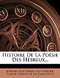 Histoire de la Poésie des Hébreux..., , 1271029456