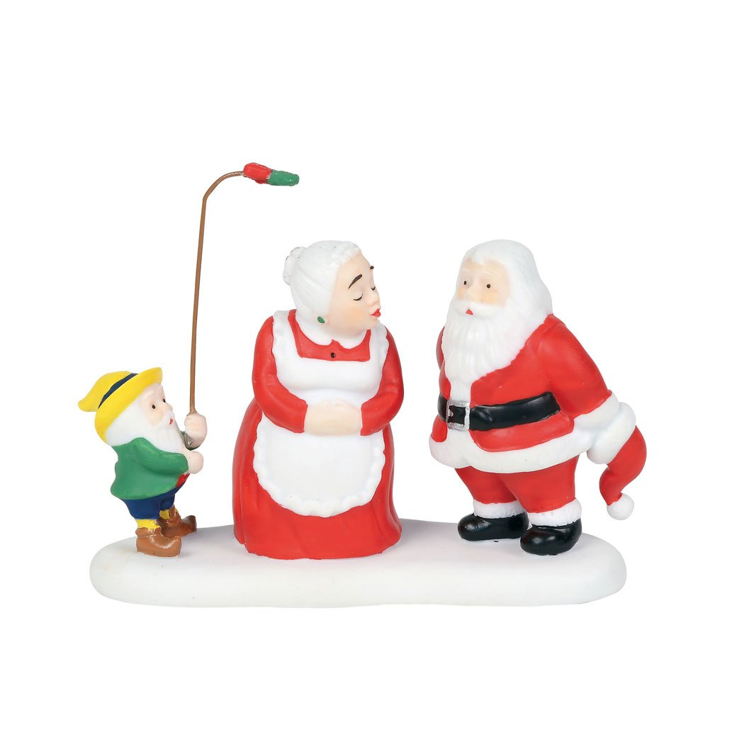 Department56 North Pole Series Department 56 a Christmas Kiss