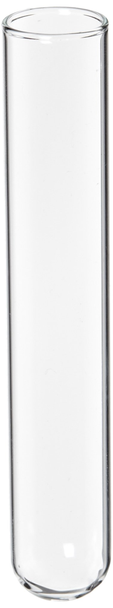 Kimble 73500-1585N-51A Borosilicate Glass Culture/Test Tube, with Rim Top (Case of 1000)