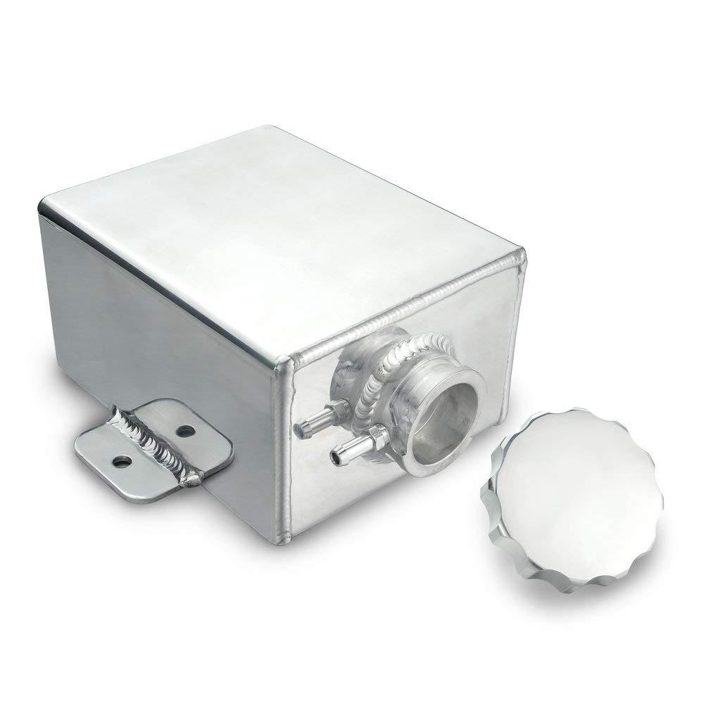 Heinmo Universal Alloy Radiator Overflow Coolant Expansion Tank -8ORB 1.2L AN8 Cooling Oil Reservoir Tank Heinmo Plus