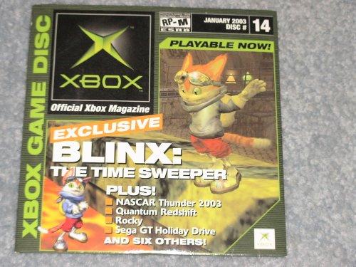 Amazon.com: Xbox Demo Disc, January 2003 (Blinx, Nascar ...