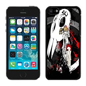 MMZ DIY PHONE CASESoul Eater 02 Black Hard Plastic ipod touch 5 Phone Cover Case