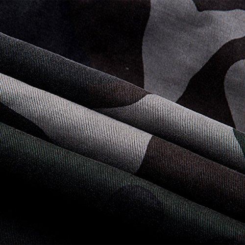 gris Pantalon Confortable Homme noir Casual Coton Gris Militaire Aieoe Kaki Camouflage Cargo vert En De Poches Fr42 Loisirs 50 bleu Multi Taille TqxxwFzgd