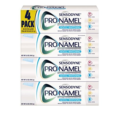Price comparison product image Sensodyne Pronamel Gentle Whitening Toothpaste 4 Pack / 6.5oz Large Size For Sensitive Teeth
