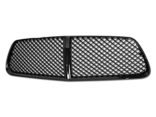 Armordillo USA 7147676 Mesh Grille Fits 2011-2012 Dodge Charger (Excl. SRT8) - Gloss Black (Dodge Grille Charger Mesh)
