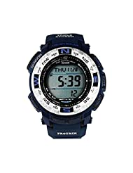 Casio Mens Pro Trek TRIPLE SENSOR Digital Sport Solar Watch (Imported) PRG-260-2D