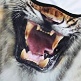 JIUSY 3D Animal Ears Fleece Thermal Hood Balaclava