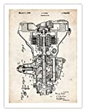 CAR TRANSMISSION INVENTION POSTER HENRY FORD 1930 US PATENT ART PRINT 18X24 AUTO TRANS GUY GIFT