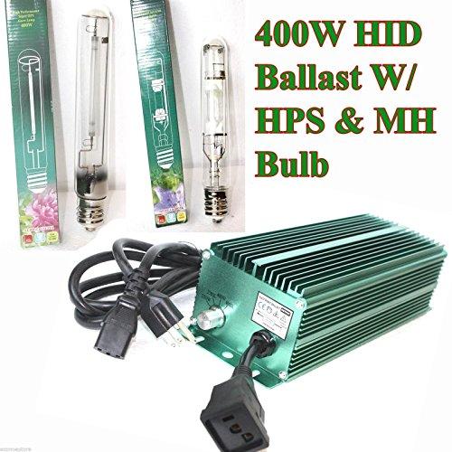 400 Watt 400w Hid Dimmable Ballast Switchable Hps Mh Bulb Silent Ballast