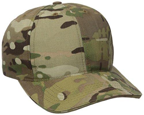 Tru-Spec Ball Cap, Tru P/C R/S, Adj, Sandwich Bill, Multicam, One Size