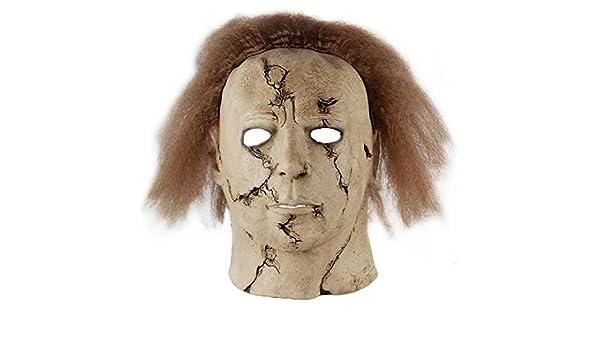 WasJmu Hot Movie Cos Mask Horror Michael Myers Mask Scary ...
