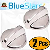 Ultra Durable WB03T10295 Range Knob Replacement Part by Blue Stars- Exact Fit for GE Range- Replaces PS2353386- PACK OF 2