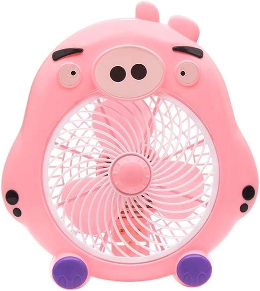 Mini ventilador de dibujos animados, ventilador eléctrico del ...