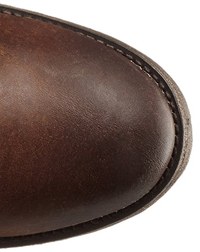 Moto Dark Brown Melissa Femme De Washed Frye Button Pull up Antique Bottes qRW1AwAp4