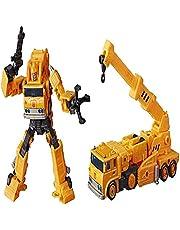 Transformeerbare speelgoed Earthrise-serie WFC-E10 Grapple Crane Model Action Figure KO Versie