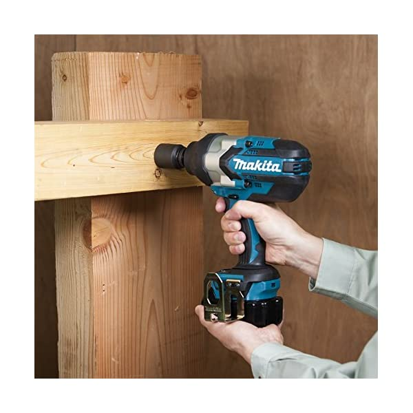 500 W Blue Makita DTW1002Z 18 V LXT Brushless 1//2In Impact Wrench Bare Unit Large