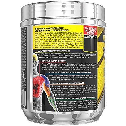 Pre Workout Powder | MuscleTech Vapor X5 | PreWorkout Energy Powder | Pre Workout for Men & Women | Creatine as Muscle…