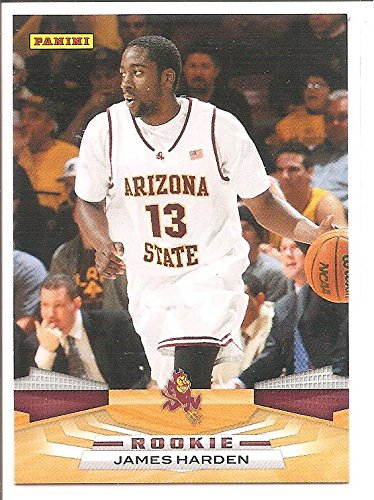 James Harden Houston Rockets / Arizona State 2009-10 Panini Rookie Basketball Card #400 ()