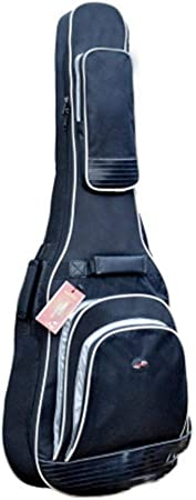 Funda de Guitarra Estuche Transporte de Guitarra para 41/42 Pulgadas Acolchada Oxford Impermeable Funda de Guitarra Universal Funda Guitarra electrica: Amazon.es: Hogar