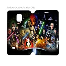 Samsung Galaxy Note 4 Flip Case Folio Cover Star Wars