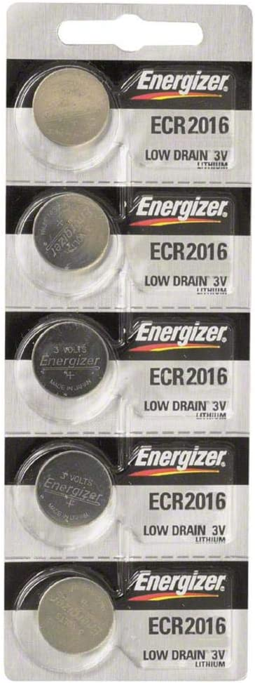B000RB00CK Energizer CR2016 Lithium Battery 3V, 5 Pack 5178n72BfanL