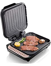 Electric Griddle, Griddle Skillet Double Baking Pan Non-Stick Pizza Maker Electric Baking pan Heated on Both Sides, Easy to Clean