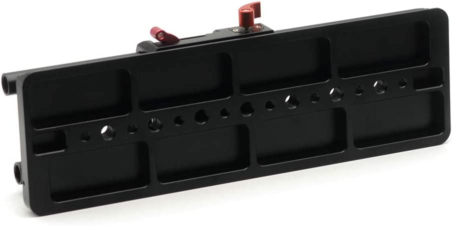 RONSHIN VELEDGE 15mm Camera BasePlate with ARRI Dovetail Plate