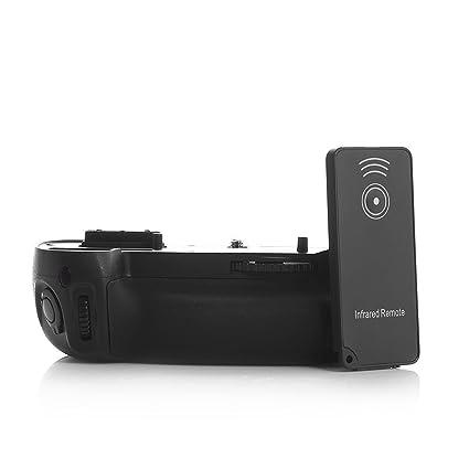 yingge Juego de empuñadura de batería para cámara réflex digital ...