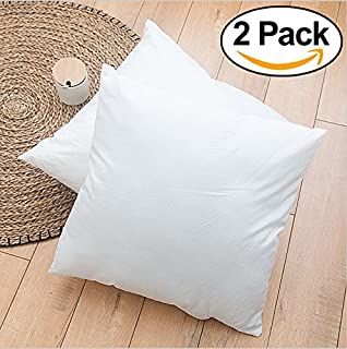 ROHI Square Poly Pillow Insert White 14 L X 14 W