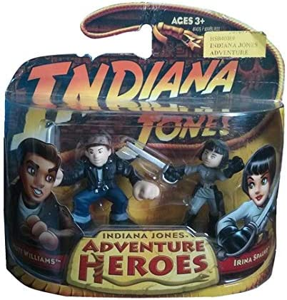 Indiana Jones Adventure Heroes - Mutt Williams and Irina Spalko: Amazon.es: Juguetes y juegos
