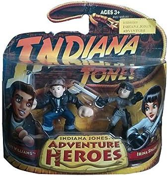 Indiana Jones Adventure Heroes - Mutt Williams and Irina Spalko: Amazon.es: Juguetes y juegos