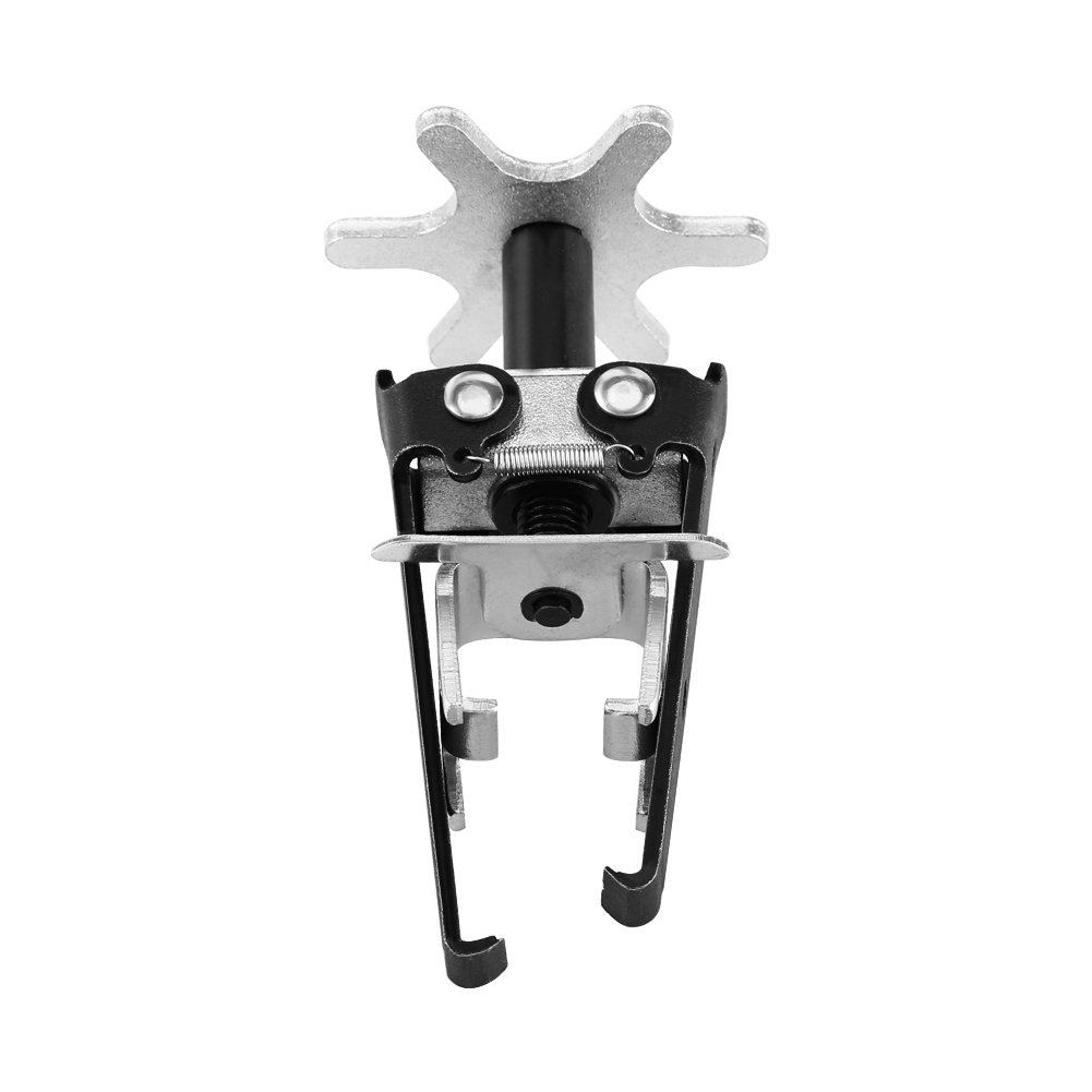 Qiilu Carbon Steel Engine Overhead Valve Spring Compressor Valve Removal Installer Tool Universal