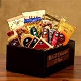 Gourmet Snacks Deluxe Meat and Cheese Gift Set