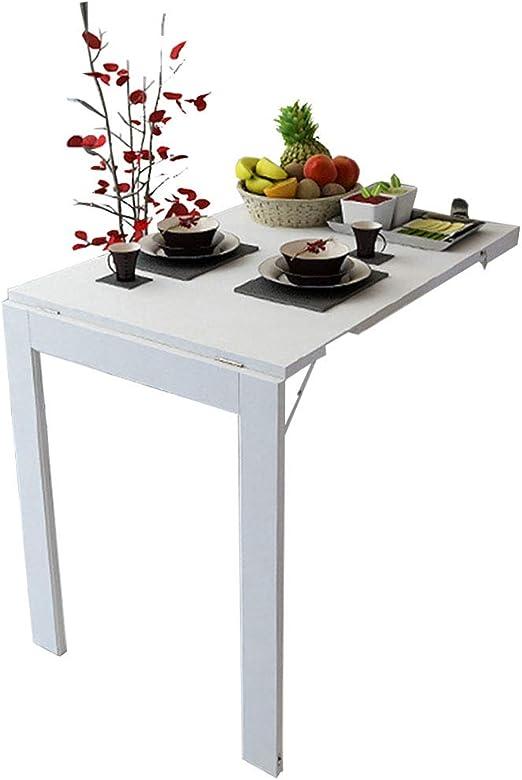 Mesa Plegable de Hoja abatible montada en la Pared Mesa de Cocina ...