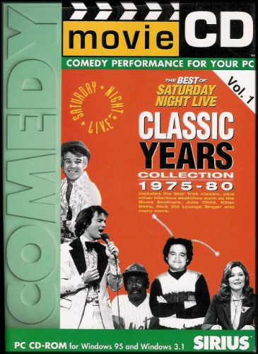 The Best of Saturday Night Live Classic Years Collection 1975-80 (Movie CD-ROM, Comedy Performance For Your PC) Volume 1]()