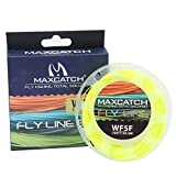 M MAXIMUMCATCH Maxcatch ECO Floating Fly Line Weight Forward Design with Welded Loop (3F,4F,5F,6F,7F,8F)