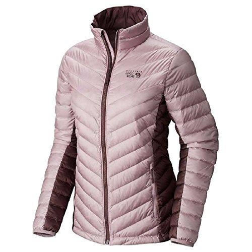 Mountain Hardwear Women's Micro Ratio Down Jacket, Dusty Orchid, Purple Plum, M - Mountain Hardwear Nylon Sweater