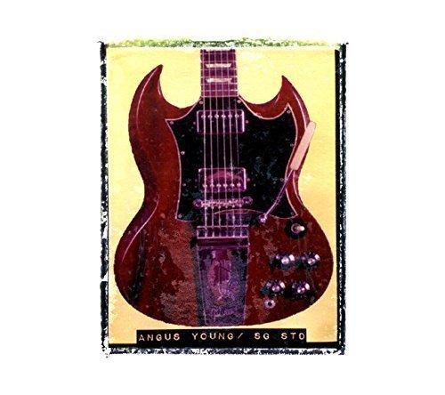 Angus Young AC/DC Gibson SG Guitar art music print / Guy Gift / Rock n roll art / music gift idea