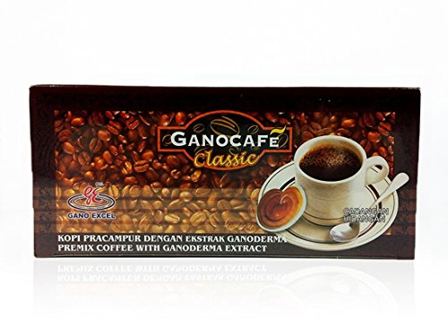 10 Boxes Gano Excel Black Coffee Classic Ganoderma Lucidum FREE Zrii Rise Coffee by Gano Excel (Image #1)