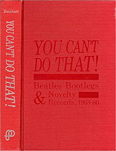 Amazon com: You Can't Do That!: Beatles Bootlegs and Novelty Records